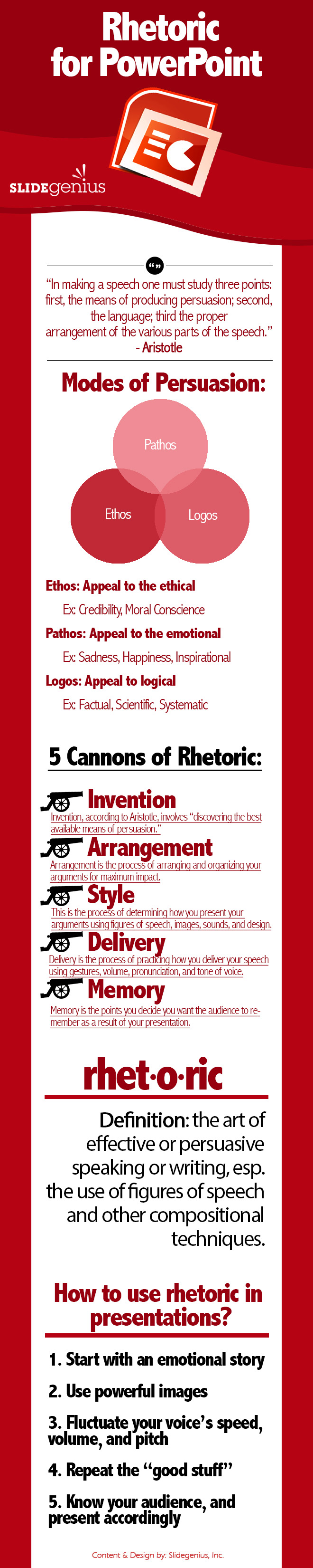 Infographic 5 rules