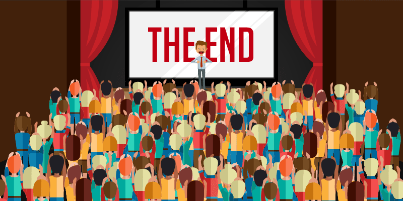 Displaying Slide Presentations Using Large Screens : THE END