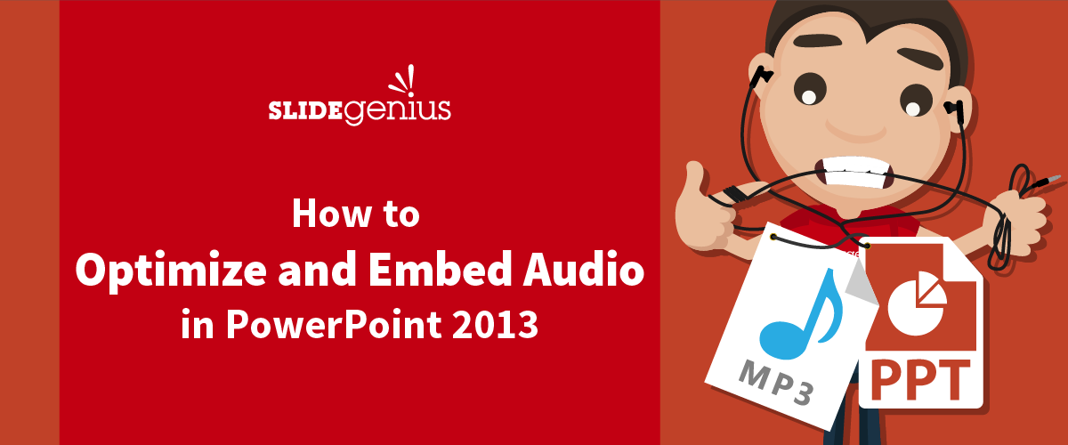 How to Embed audio in PowerPoint 2013